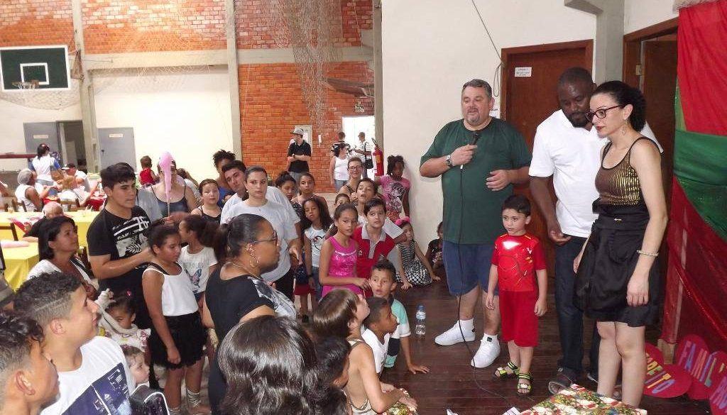 FESTA DE FINAL DE ANO AÇÃO SOCIAL SANTA ISABEL, ARTE DE CUIDAR!