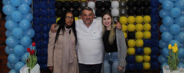 CHÁ PARA AS MÃE E NIVER DO CACO