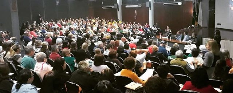 PALESTRA  IDOSOS ÓRFÃOS DE FILHOS VIVOS