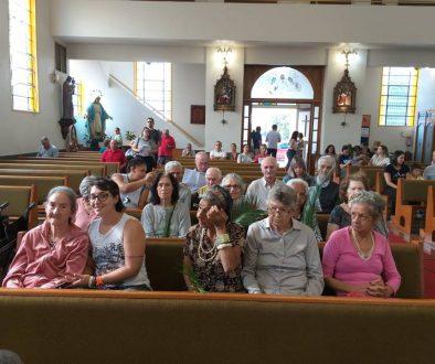 Dia de nossos IDOSOS irem na Igreja Nossa Senhora das Graças assistirem a missa